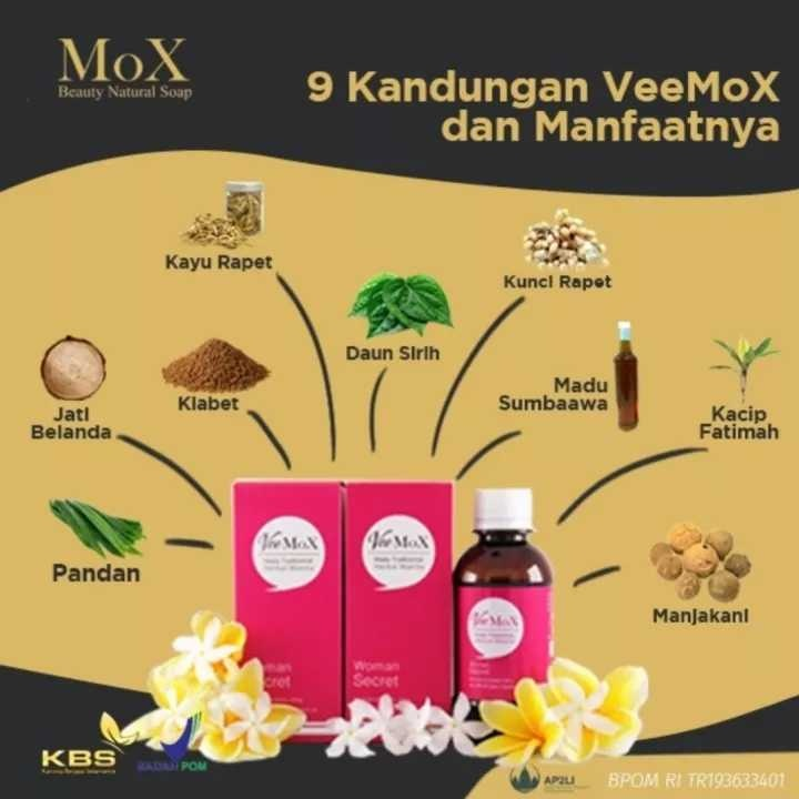 VEEMOX (MADU HERBAL KEWANITAAN)